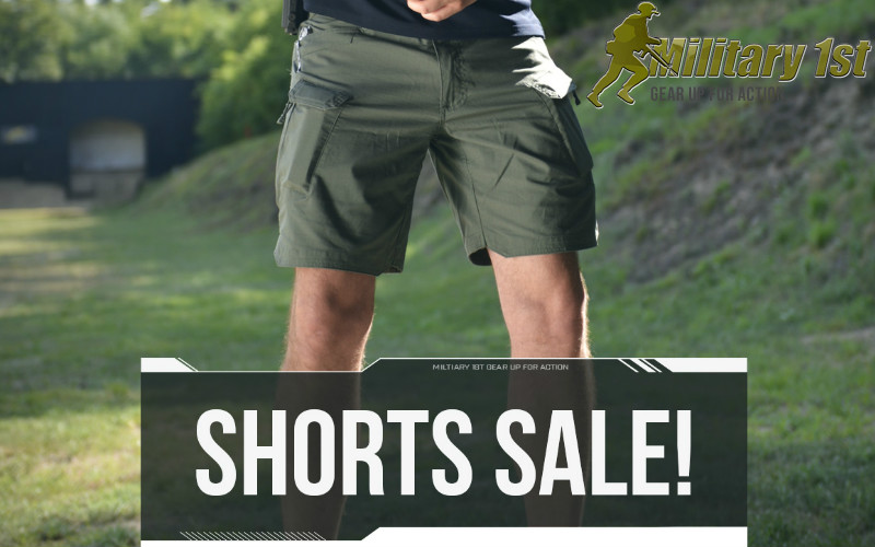 Military1st Shorts Sale and Special offers all around.
