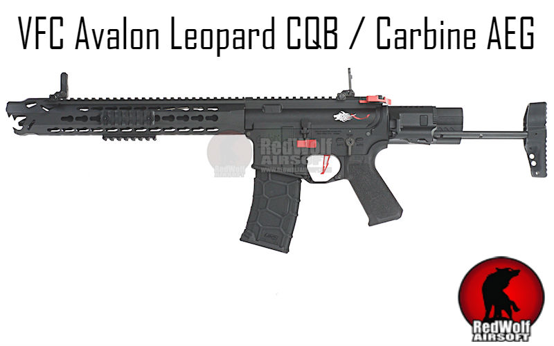RedWolf - New VFC Avalon Leopard AEG Now Available In Black. Get Yours Now!