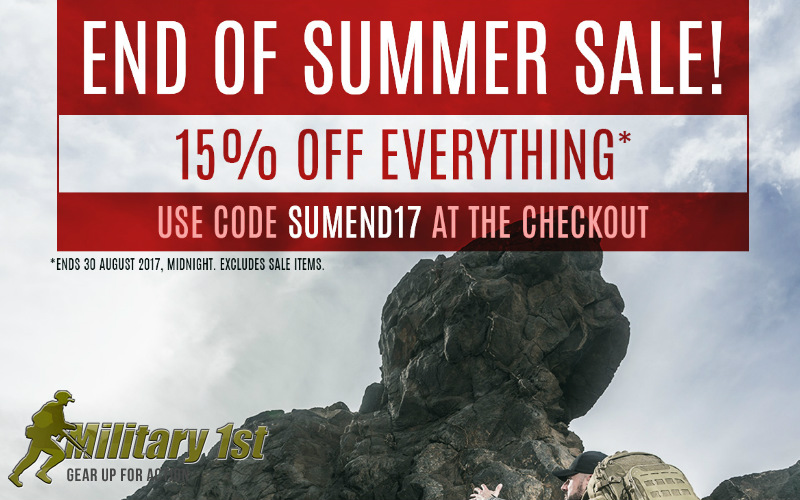Military 1st End of Summer Sale