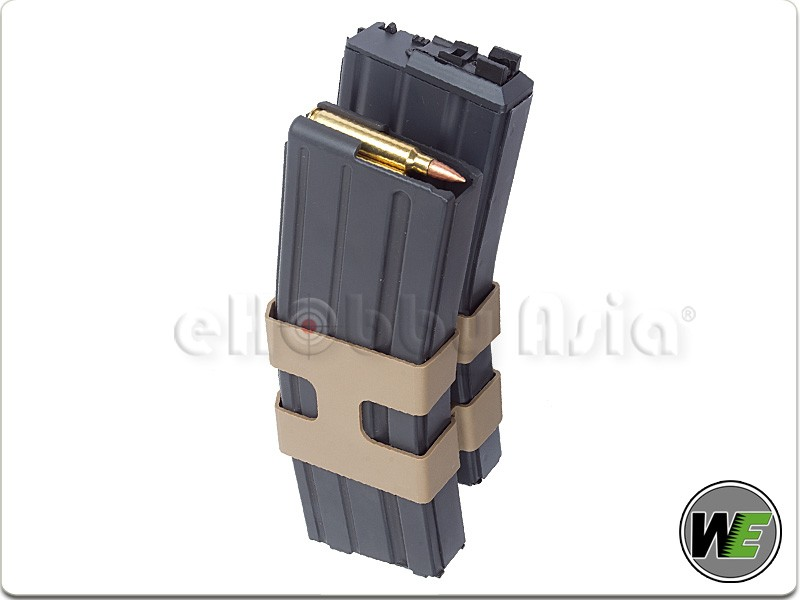 WE Double M4 GBB Rifle Magazine