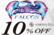 eHobby News - Falcon 10% OFF
