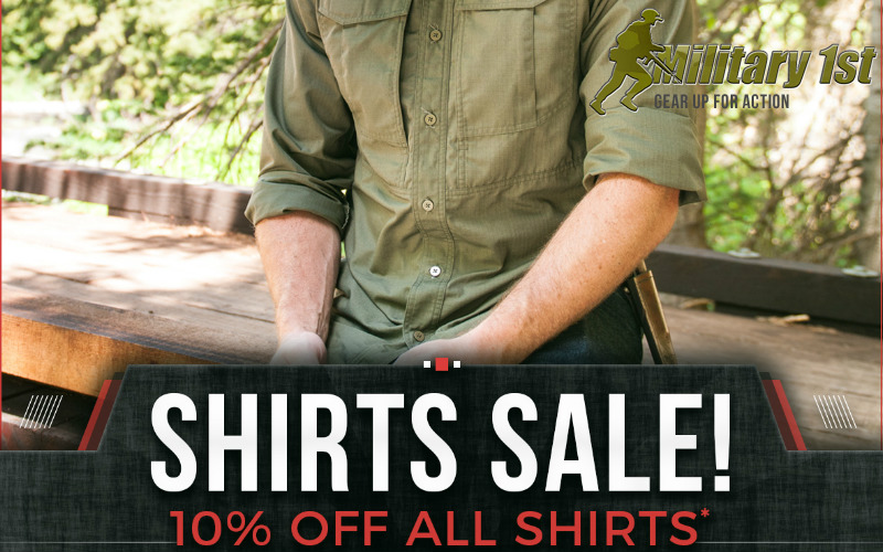 Military1st shirts sale of 2017