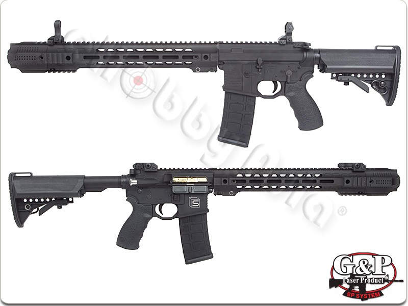 EMG Salient Arms GRY M4 GBB