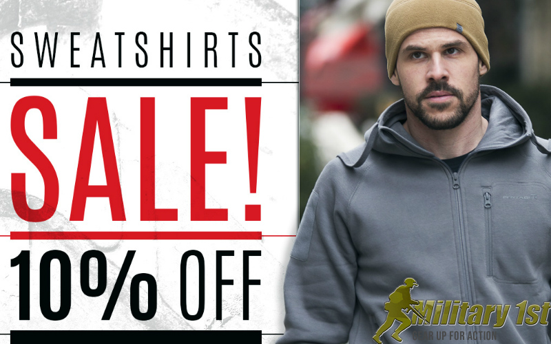 Military 1st Sweatshirts Sale