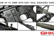 GHK M4 V2 GBBR with NAVY SEAL Engraved Mark