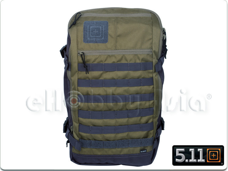 5.11 Rapid Quad Zip Pack (Claymore)