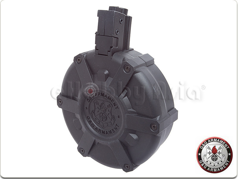 G&G 1500rd Drum Magazine