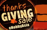 eHobbyAsia and their nice Thanksgiving SALE :D