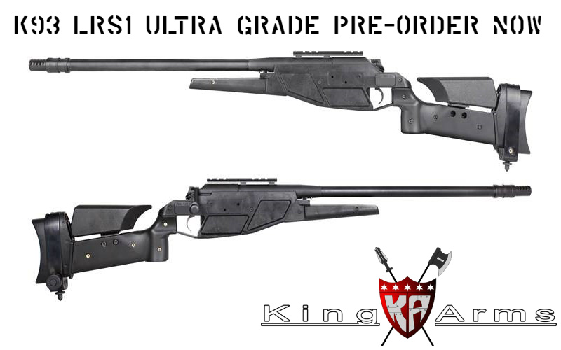 King Arms K93 LRS1 Ultra Grade Pre-order Now