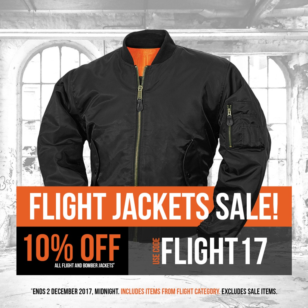 Flight Jackets Sale 2017 Instagram