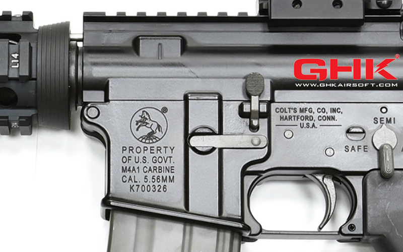 GHK M4 GBBR Colt licensed version release