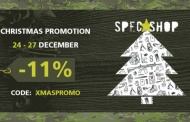 SpecShop.pl wishes you Merry Christmas and a Happy New Year sale also included