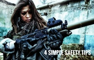 Airsoft - 4 simple safety rules