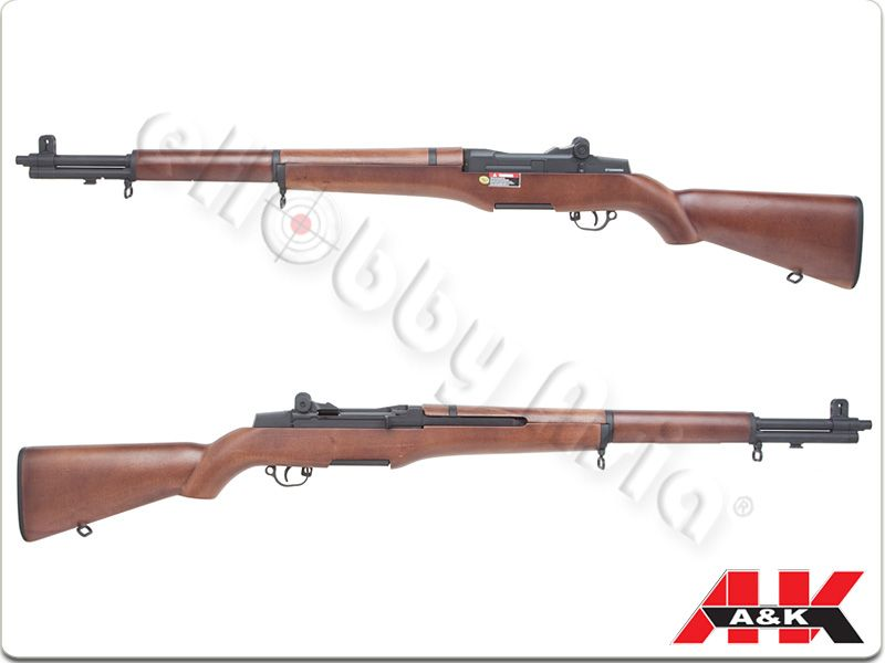 A&K M1 Garand AEG (Wood Color)