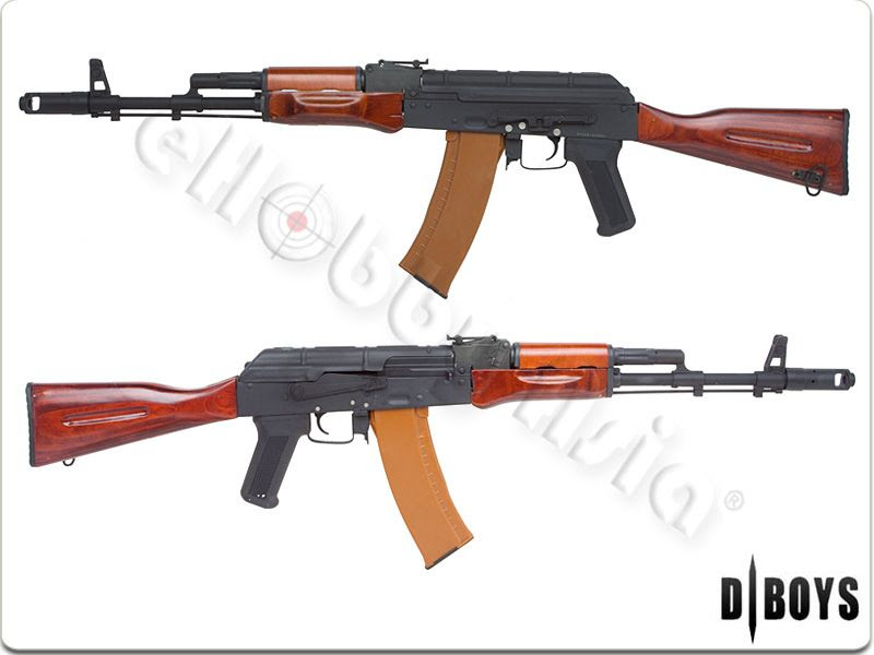 D-BOYS AK74 Full Metal AEG (Wood)