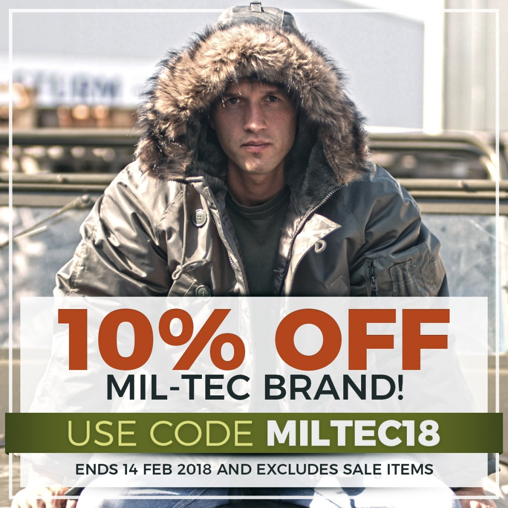 Mil-Tec Sale 2018 Instagram