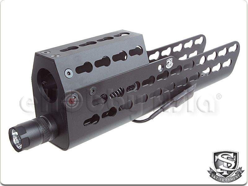 S&T Keymod Light Handguard