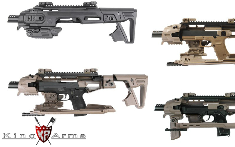 King Arms – CAA Airsoft Division restock of RONI conversions
