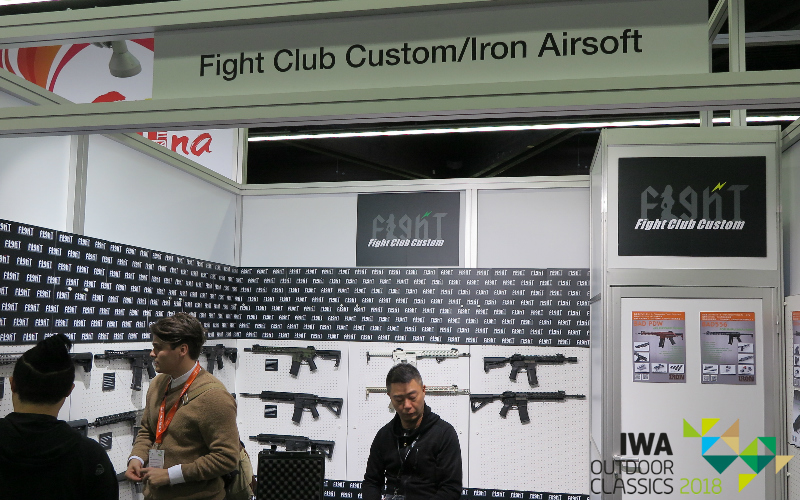 IWA 2018 - Fight Club Custom and Iron Airsoft Stall