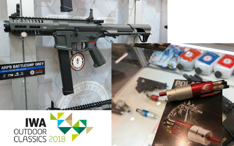IWA 2018 - G&G Armament Booth with Polarstar Corner