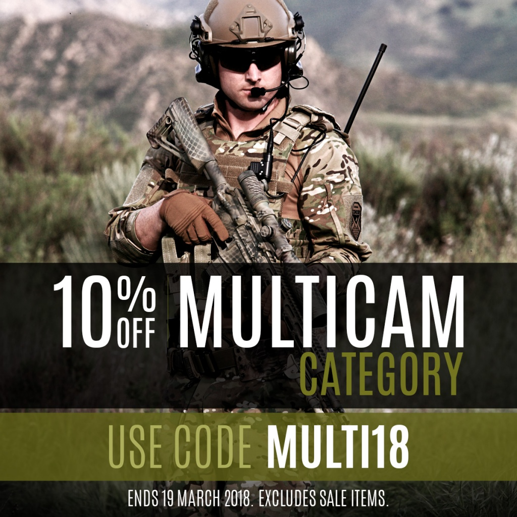 MultiCam Sale 2018 Instagram