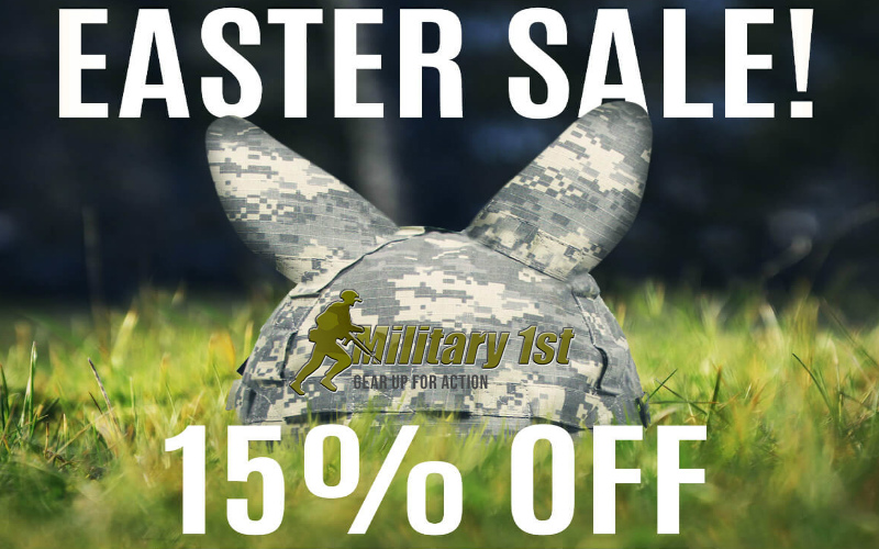 Military1st Easter sale