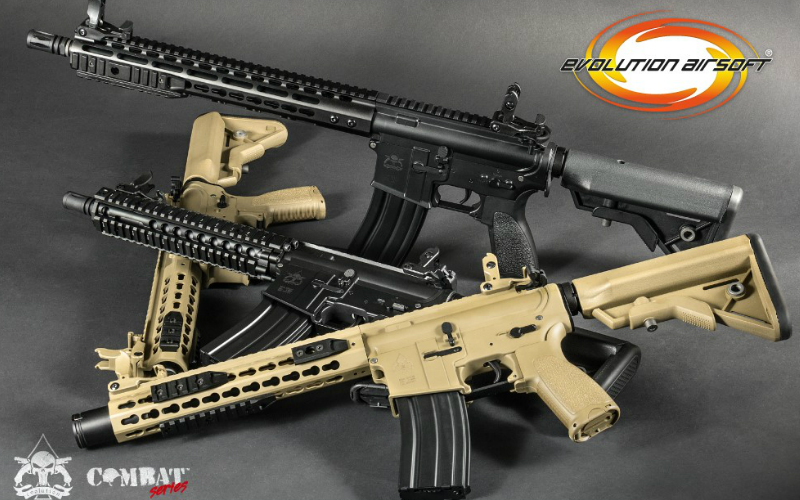 EVOLUTION AIRSOFT WORLDWIDE RELEASE - RECON in Carbontech and Full Metal