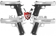King Arms SUS Custom 1911 Stainless Steel Version Available now!