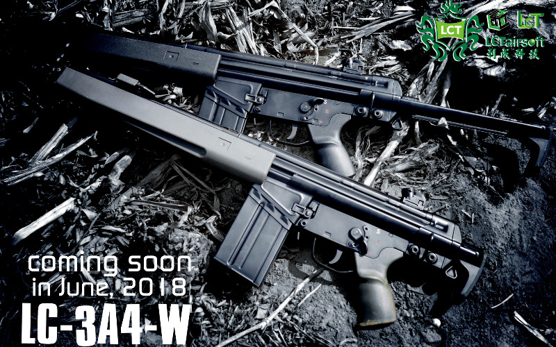 LCT New products info.-LC-3A4 AEG and parts