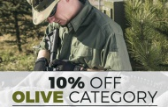 Military 1st Olive category Sale