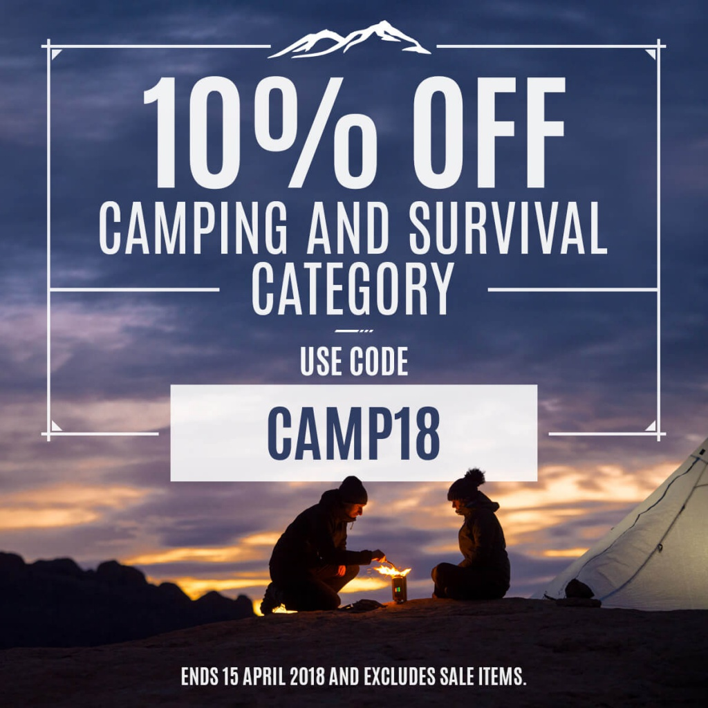 Camping Sale 2018 Instagram
