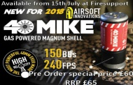 Firesupport News - Airsoft innovations 40 Mike Pre Order