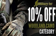 MILITARY1ST continues their colour oriented sales. This time it is WOODLAND