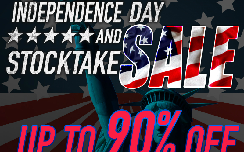 RedWolf  Independence Day And Stocktake Sale Up To 90% Off