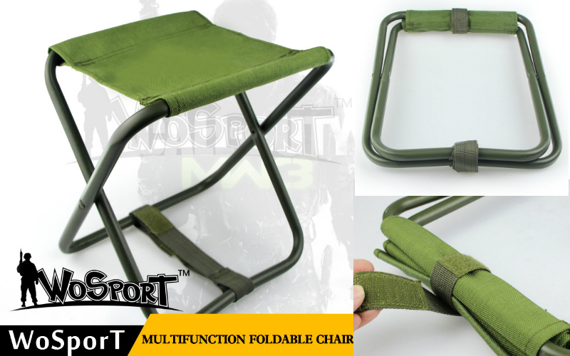 WoSport new Multifunction Foldable Chair