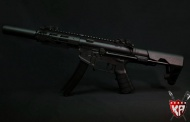KingArms -PDW 9mm SBR Shorty - new addition to airsoft PDW family