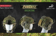 Agilite limited edition PenCott - GreenZone helmet cover.