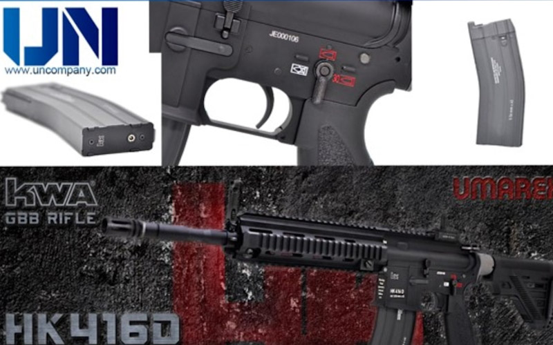 KWA (Umarex) HK416D GBBR is now up for Pre-Order!
