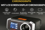 WoSport LCD Screen Display professional chronograph