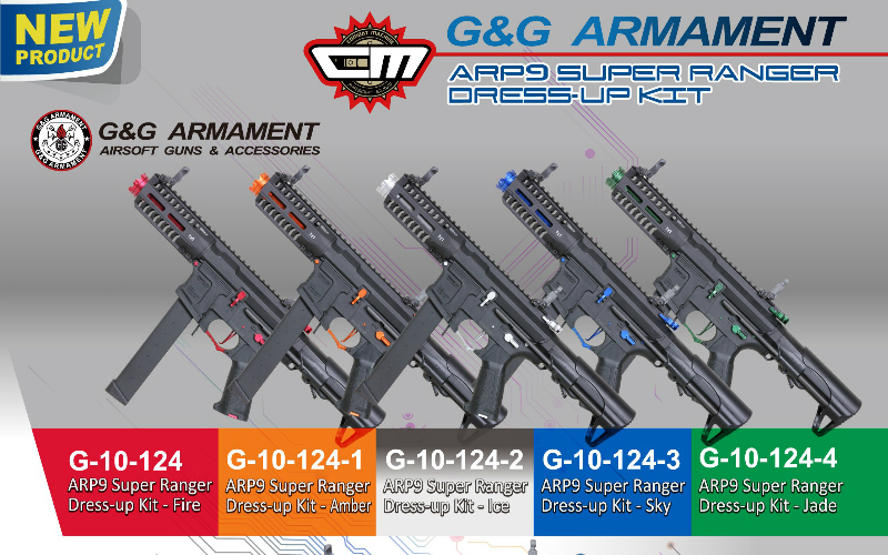 G&G Armament announces new heavy weight BB's and ARP color upgrades