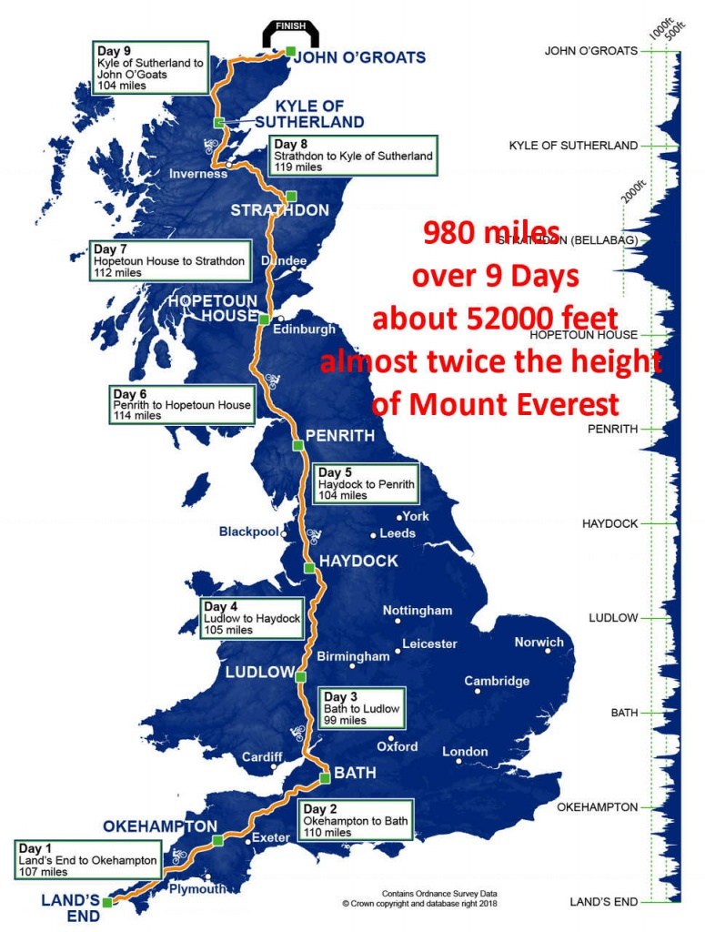 lejog 2018 whole route 2