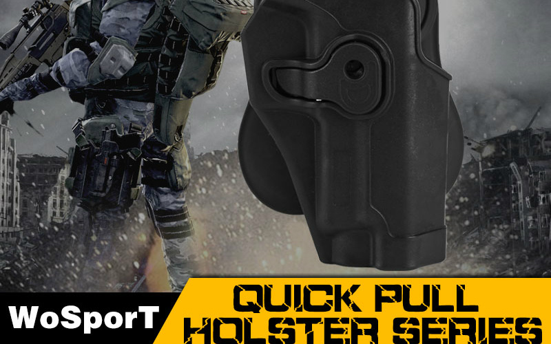 WoSport and their new quick pull holster.