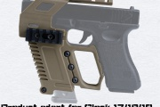 WoSport  Glock series rail base.