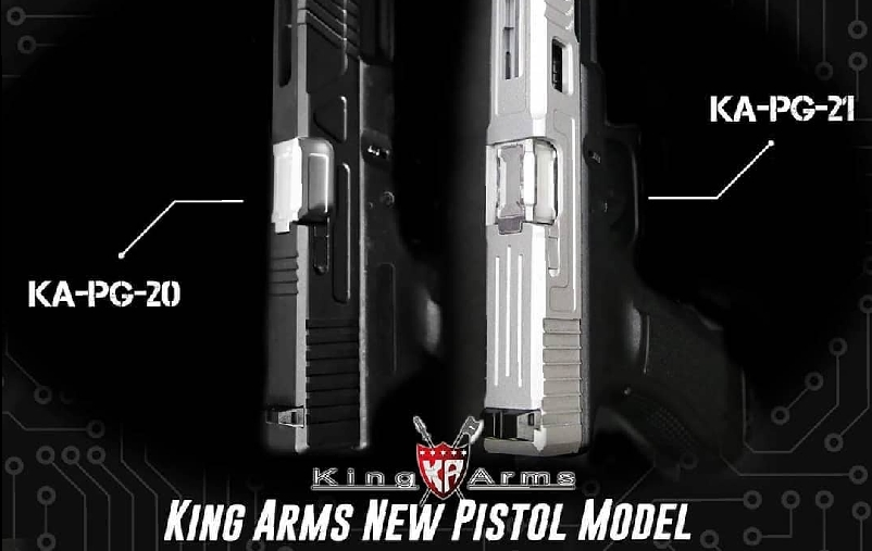 KingArms new gbb pistol