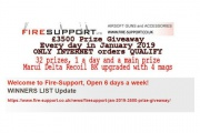 Firesupport winners up to day 22