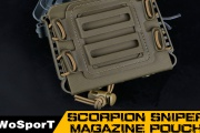 Scorpion Sniper Magazine Pouch(MG-42),fit for ASW338, L96A1, M82A1 and more