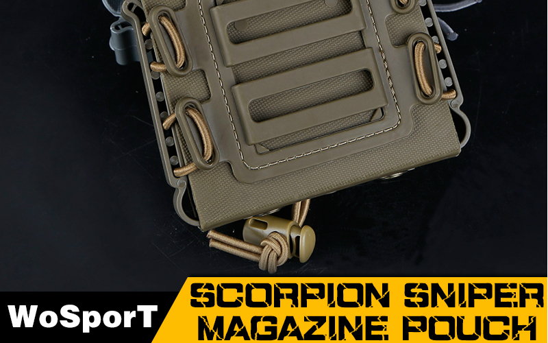 Scorpion Sniper Magazine Pouch from WoSport is here