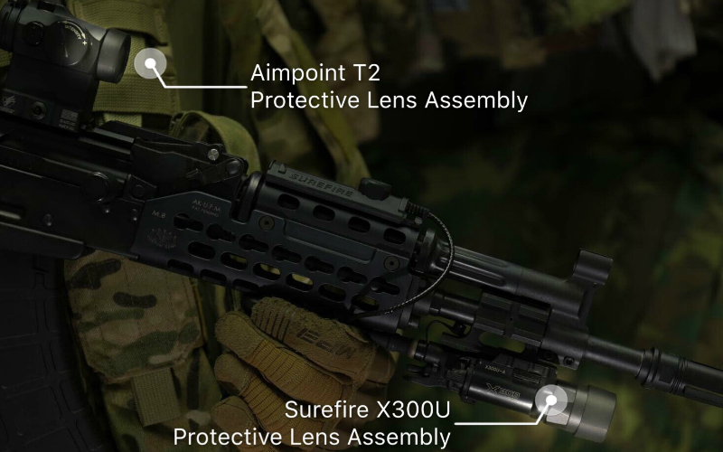 DyTac presents: The Hugger Airsoft Protective Lens and Assembly