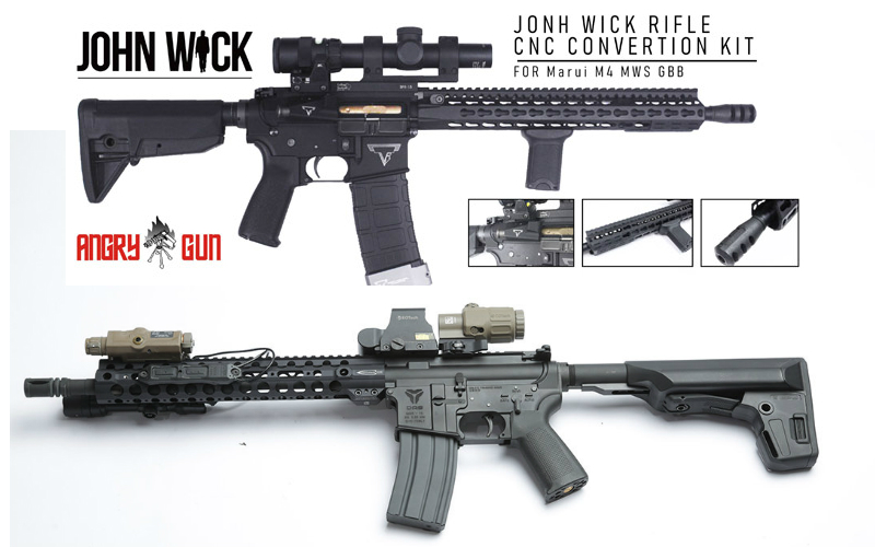 FireSupport GBLS utlimate AEG and John Wick CNC conversion kit arriving soon