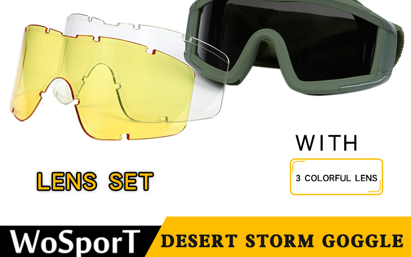Desert Storm Goggle from WoSport